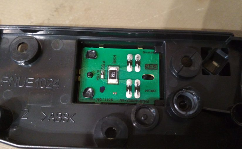 Fixing a Panasonic KX-MB1500 printer/toner